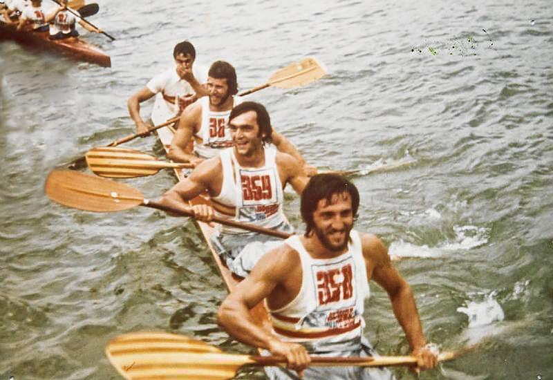 K-4 Herminio-Celorrio-Díaz Flor-Misioné. Belgrado 1975