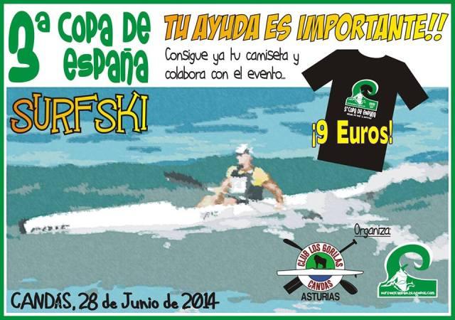 Colabora en la organización de la III Copa de España de Surfski en Candás el próximo 28 de Junio de 2014