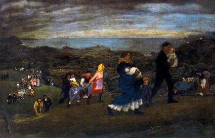 La vuelta de la romería (1915). Nicanor Piñole