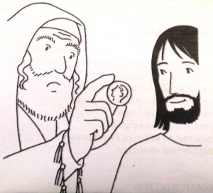 Dad al César lo que es del César y a Dios, lo que es de Dios.